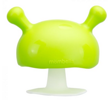Load image into Gallery viewer, MUSHROOM SOOTHING TEETHER - GREEN