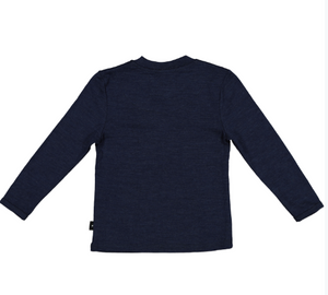 Lincoln Pocket Tee,-Merino Admiral