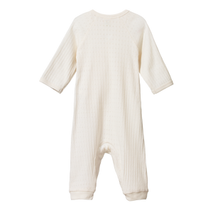 NATURE BABY-HENLEY PYJAMA -ALL IN ONE SUIT -POINTELLE