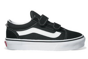 VANS OLD SKOOL VELCRO BLACK/TRUE WHITE
