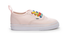 Load image into Gallery viewer, Vans- Authentic Elastic Rainbow Shine Pink