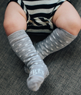 LAMINGTON Merino Wool Knee High Socks | Baby | SNOWFLAKE- PREM