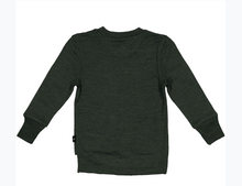 Load image into Gallery viewer, Archie Thumbhole Top, Moss-Merino Jersey