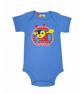Buzzy Bee Blue Bodysuit