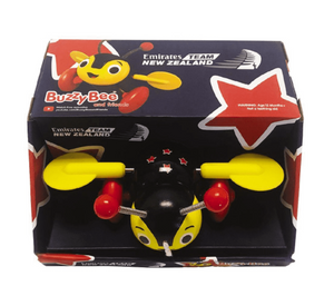 BUZZY BEE- TEAM EMIRATES BUZZY BEE WOODEN PULL ALONG TOY