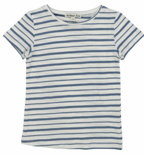BLUE STRIPE T-SHIRT SIZE 2