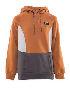 St Goliath District Hoody- Rust