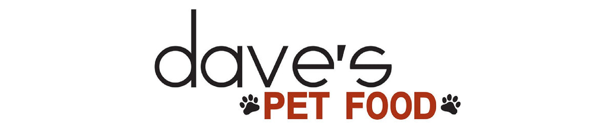 Dave's Pet canned and dry food formulas, conditions and diet restrictions for dogs and cats with dietary needs, developed by world-famous nutritionists. Logo