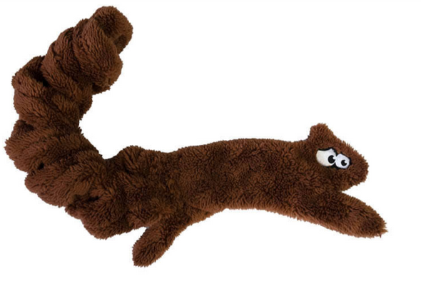 Duraplush Springy Squirrel Dog Toy