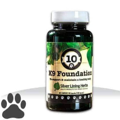 Silver Lining Herbs 10 Foundation Supplements for Dogs, image 1