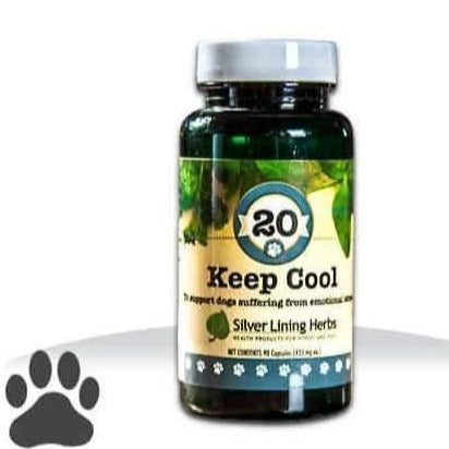 Silver Lining Herbs 20 Keep Cool Supplement for Dogs, front image