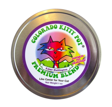 Colorado Kitty Pot Premium Kippy Huffington 1oz Tin
