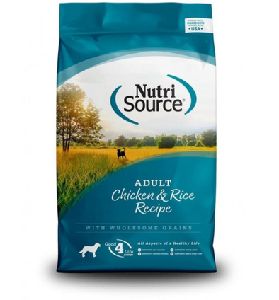NutriSource Chicken & Rice Dry Dog Food