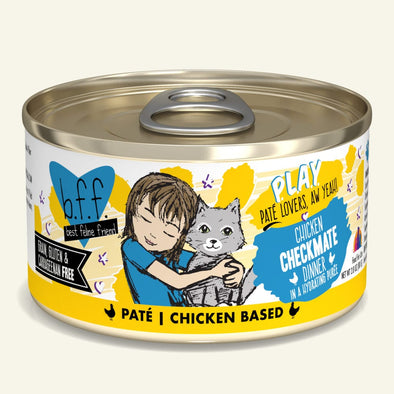 Weruva BFF Paté Checkmate Canned Cat Food
