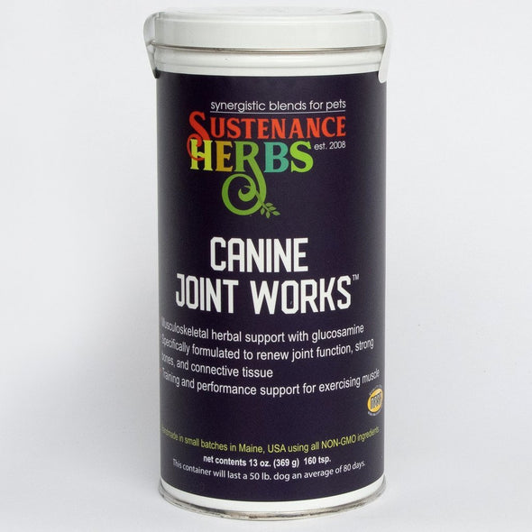 Sustenance Herbs Canine Joint Works Formula for Dogs, image 2