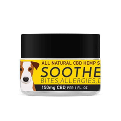 CBD Dog Health SOOTHE Full Spectrum Hemp Extract (CBD) For Dogs with Salve, Honey & Ginger, image