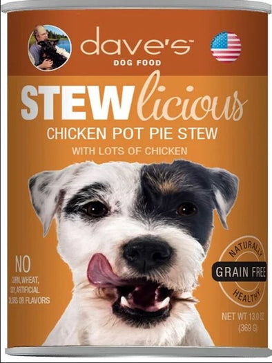 Dave's DOG Stewlicious Chicken Pot Pie