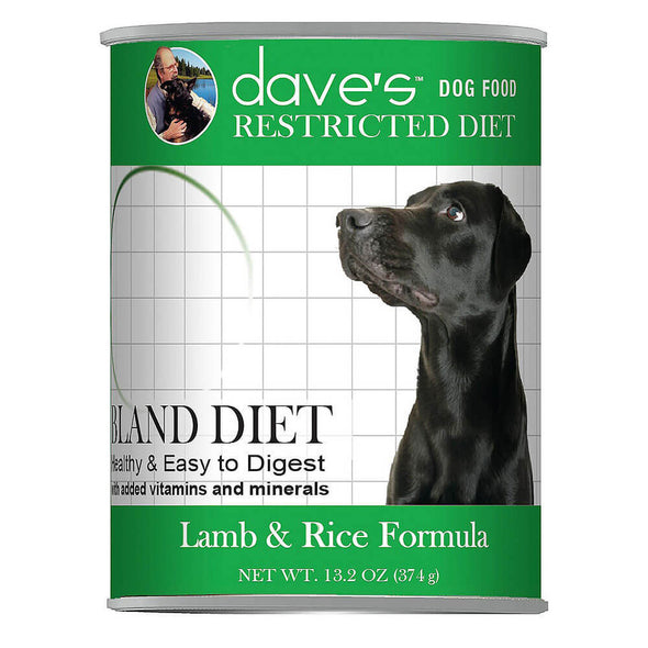 Dave's Restricted Bland Lamb/Rice