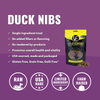 Vital Essentials Duck Nibs Freeze-Dried Treats for Dogs, image of product
