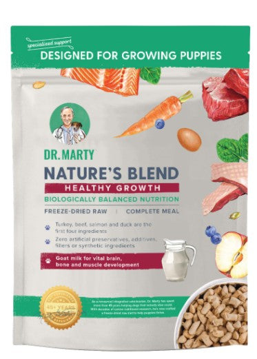 Dr. Marty's Freeze Dried Raw Puppy Food