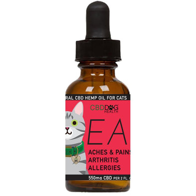 CBD Dog Health EASE Full Spectrum Hemp Extract (CBD) For Cats With Turmeric & Frankincense, image