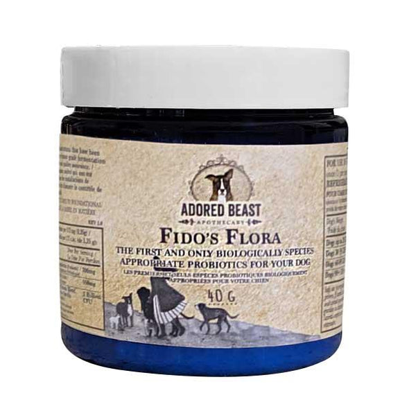 Adored Beast Apothecary Fido's Flora Probiotics for Dogs, image