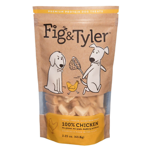 Freeze-Dried Chicken Breast Treats for Dogs, front of package