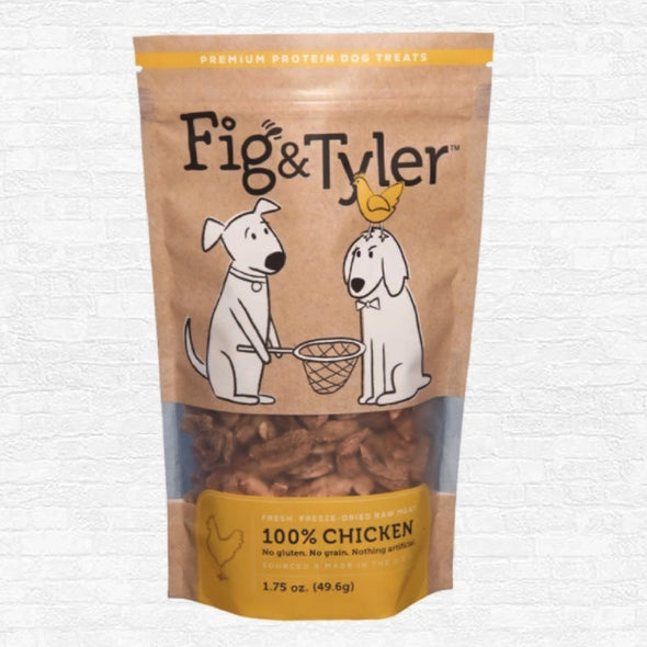 Fig & Tyler Freeze-Dried Raw Chicken Hearts Treats for Dogs