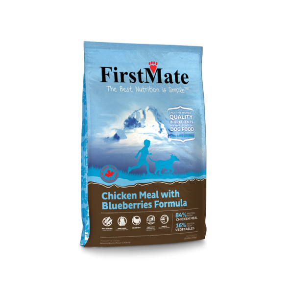 First Mate Chicken with Blueberries Formula Dry Dog Food