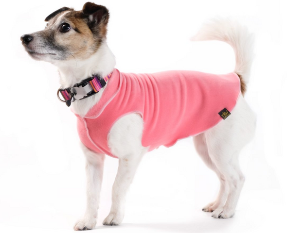 Goldpaw Stretch Fleece- Coral