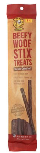 Happy Howie's Beefy Woof Sticks 4 pack