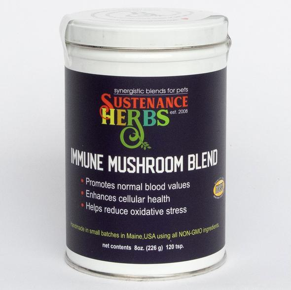 Sustenance Herbs Immune Mushroom Blend for Dogs, image 1