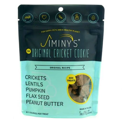Jiminy's Cricket Cookies Treats for Dogs - Original, front of bag