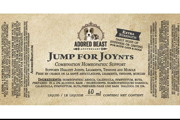 Adored Beast Apothecary Jump for JOYnts Joint Formula for Dogs, image 2