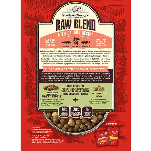 Raw Blend Wild Caught Grain Free
