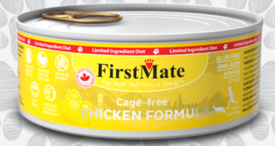 First Mate Chicken Formula Limited Ingredient Canned Cat Food