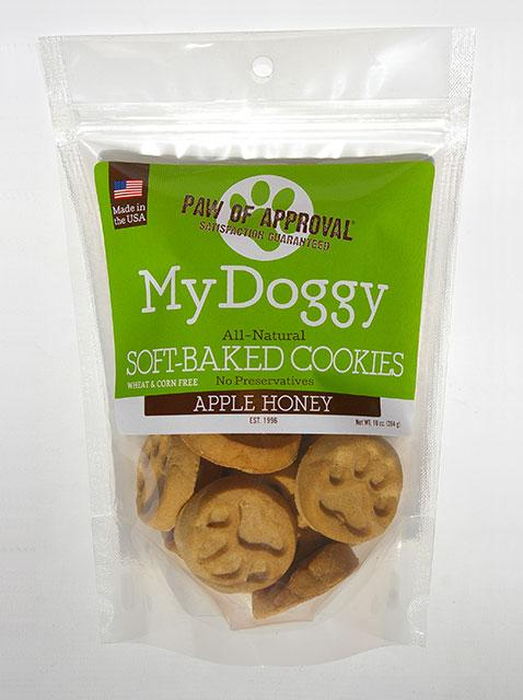 Training Treat in Apple Honey Flavor for Dogs, image of package