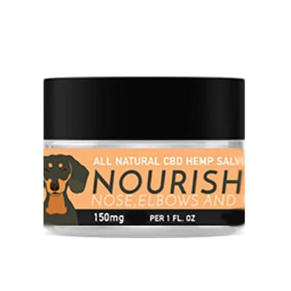 NOURISH - Full Spectrum Hemp Extract (CBD) Salve for Dogs With Vanilla & Vitamin E, image