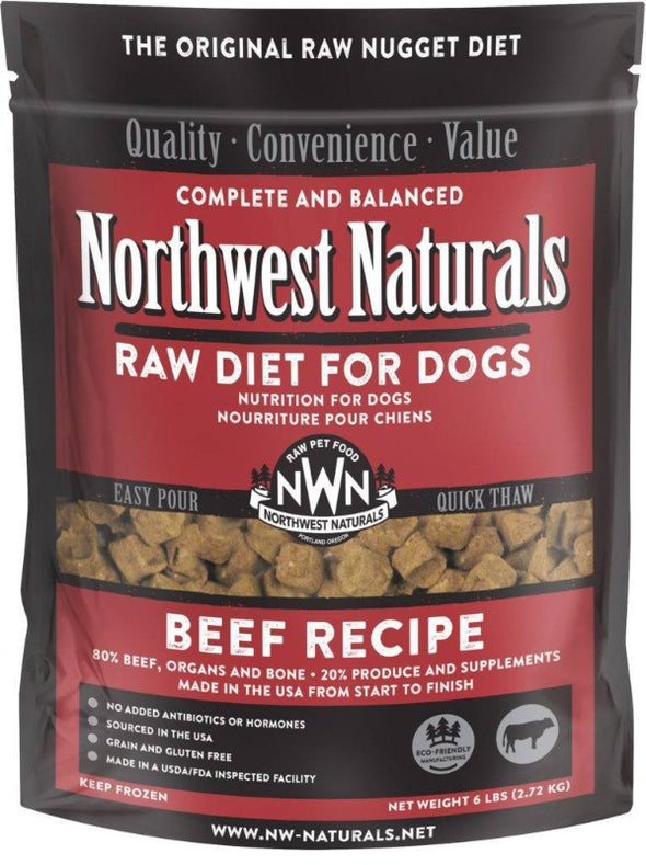 Northwest Naturals Freeze Dried Beef Nugget Diet for Dogs