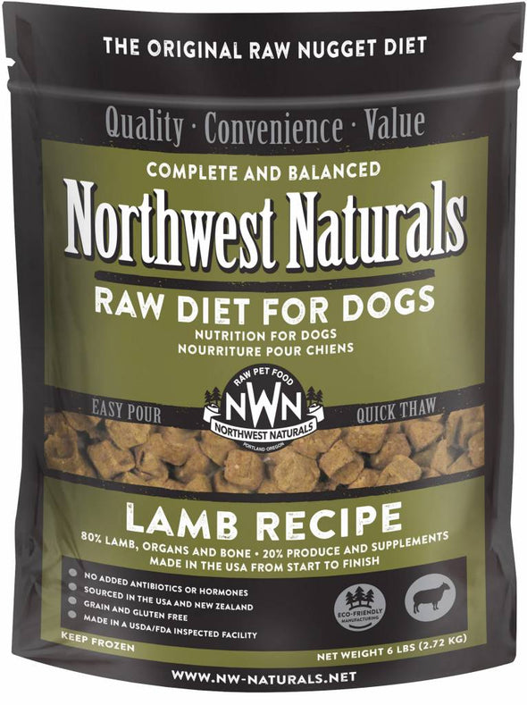 Northwest Naturals Freeze Dried Lamb Nugget Diet for Dogs