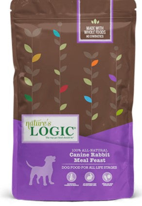 Nature's Logic Canine Rabbit Meal Feast