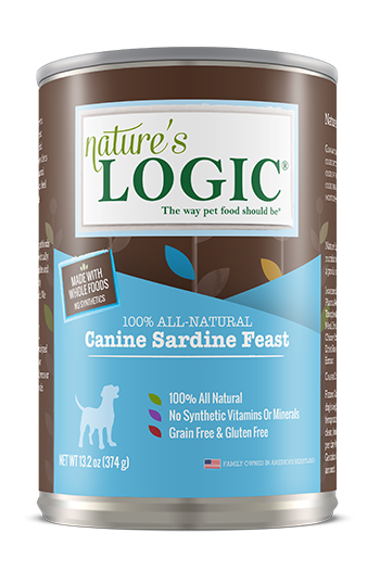 Nature's Logic Distinction Canine Sardine Feast Canned Dog Food for All Stages