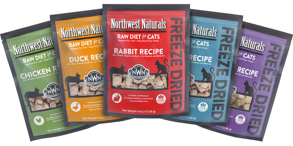 Northwest Naturals Freeze Dried Nibbles Diet For Cats at Barking Dog Bakery and Feed