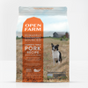 Open Farm FarmerÕs Table Pork Dry Dog Food, front of bag-red