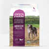 Open Farm Senior Dry Dog Food, front of package