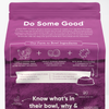 Open Farm Senior Dry Dog Food, back of package