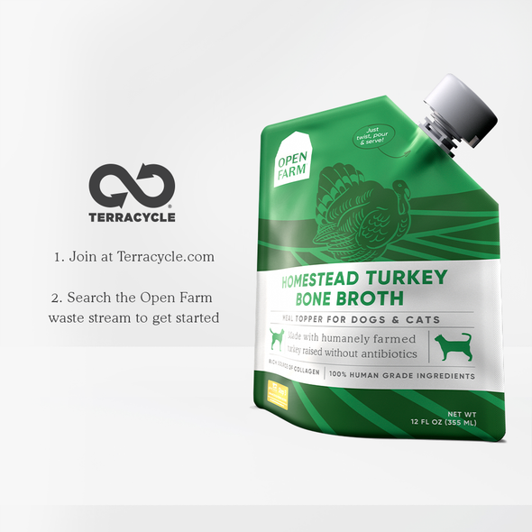 Homestead Turkey Bone Broth Bundle of 3 Pouches for Dogs, at Barking Dog Bakery and Feed in Atlanta