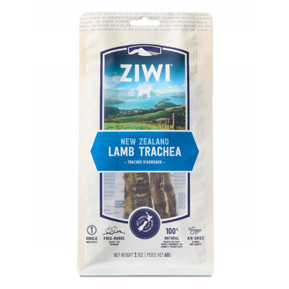Ziwi Peak Lamb Trachea Oral Chews for Dogs, front image