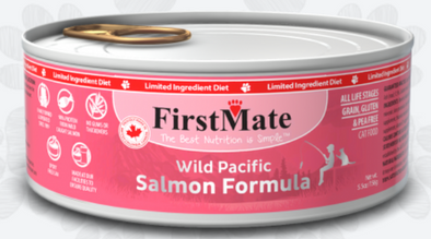 First Mate Salmon Formula Limited Ingredient Canned Cat Food