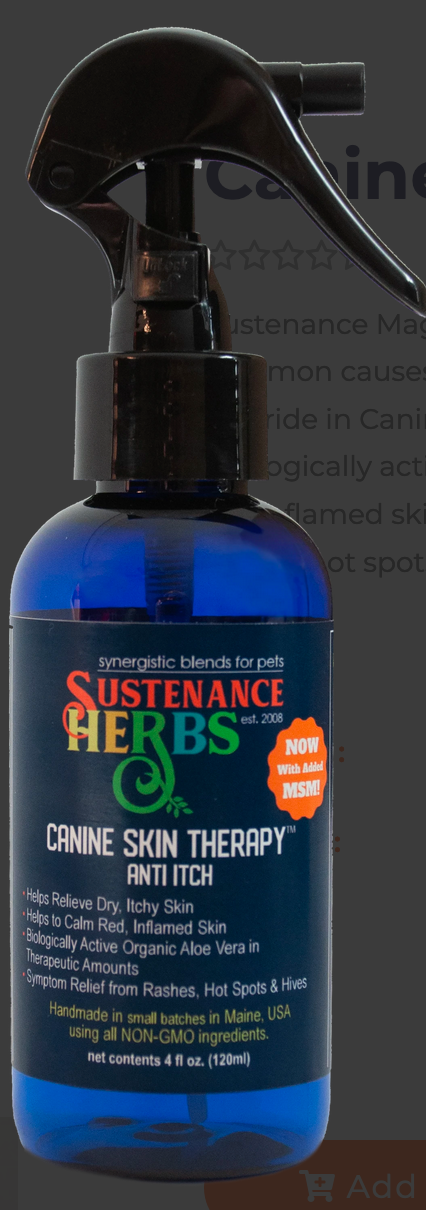 Sustenance Herbs Canine Skin Therapy